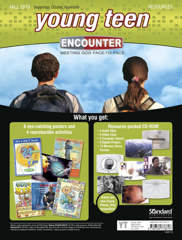 Encounter | Young Teen Resources | Fall 2019