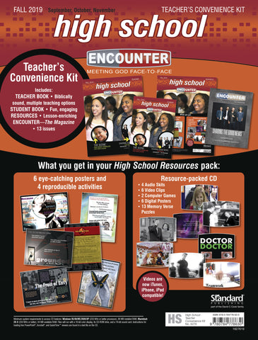 Encounter | High School Teacher's Convenience Kit | Fall 2019