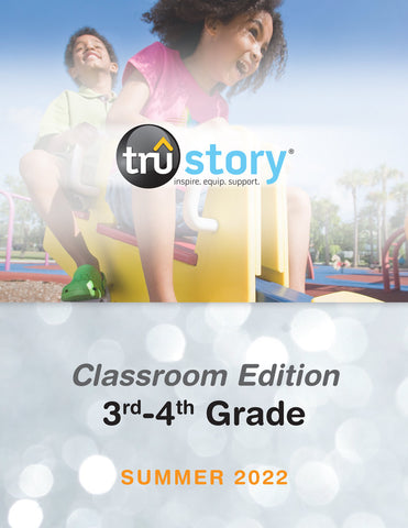 TruStory | Grades 3-4 Classroom Edition Quarterly Kit (Up to 50 Students) | Spring 2021