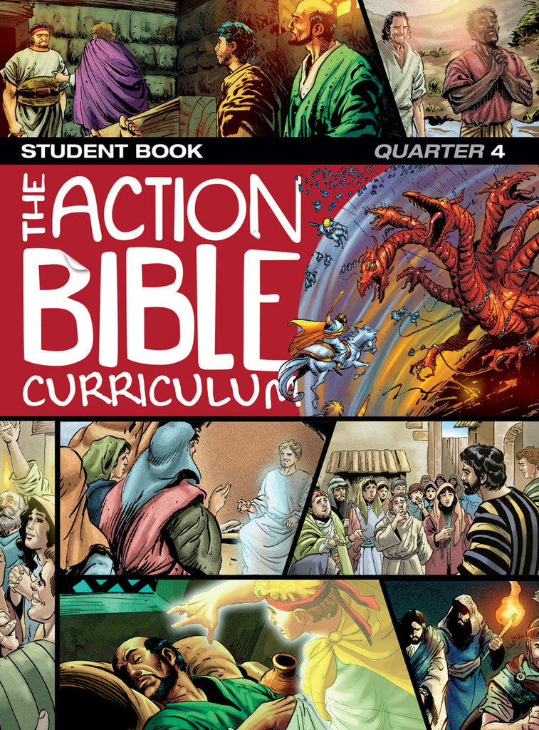 The Action Bible Curriculum   Student Book - Print Q4