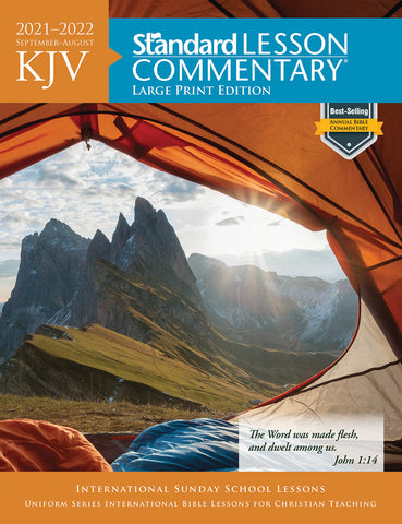 Standard Lesson Commentary Adult Bible Study Large Print KJV