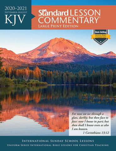KJV Standard Lesson Commentary® Large Print Edition 2020-2021