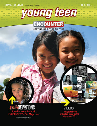 Encounter | Young Teen Teacher Guide | Summer 2020
