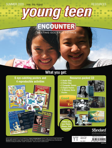 Encounter Young Teen Classroom Resources Summer 2020