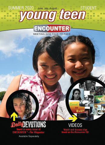 Encounter Young Teen Student Book Summer 2020