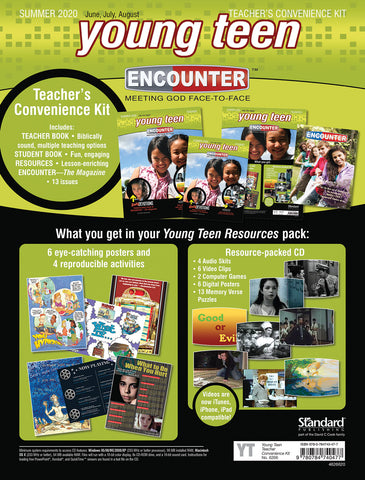 Encounter Young Teen Teacher's Convenience Kit Summer 2020