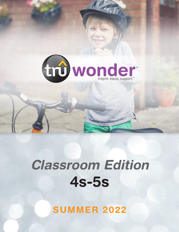 TruWonder | Ages 4-5 Classroom Edition Quarterly Kit (Up to 50 Students) | Spring 2021