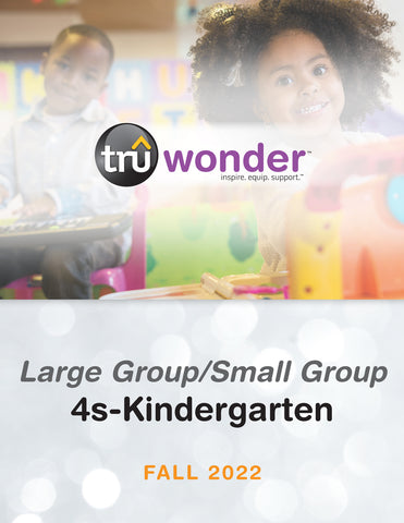 TruWonder Kindergarten Classroom Edition Quarterly Kit (25-50 Students) | Spring 2019