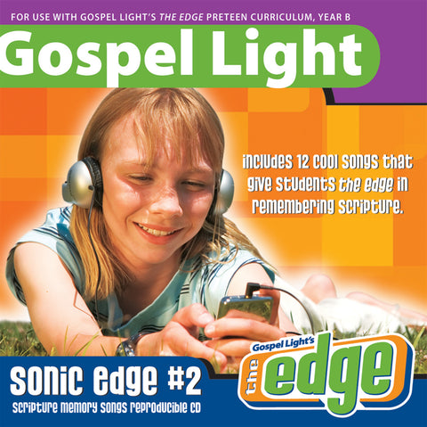 Gospel Light | Preteen GR 5-6 Sonic Edge Music CD | Year B