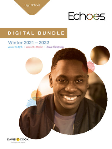 Echoes High School Sunday School Digital Bundle Winter