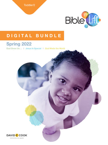 Bible-in-Life | Toddler/2 Digital Bundle | Spring 2021