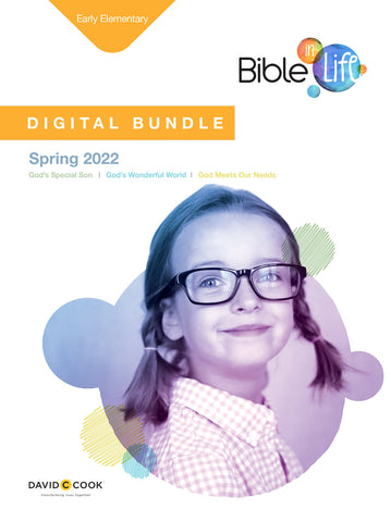 BIble in Life Early Elementary Digital Bundle Spring 2021