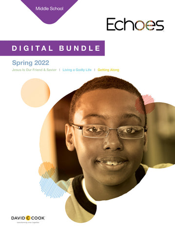 Echoes Middle School Digital Bundle | Spring 2019