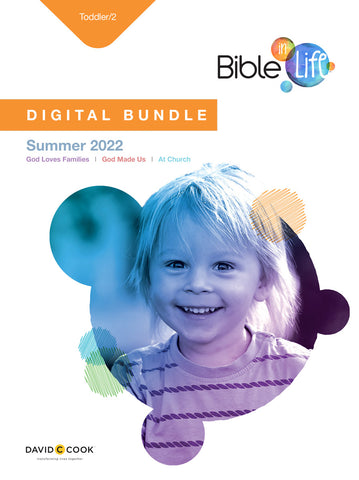 Bible-in-Life | Toddler Digital Bundle | Summer 2019