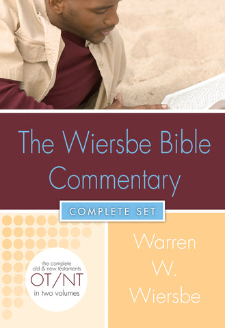 Wiersbe Bible Commentary 2 Vol Set  - Warren Wiersbe | David C. Cook
