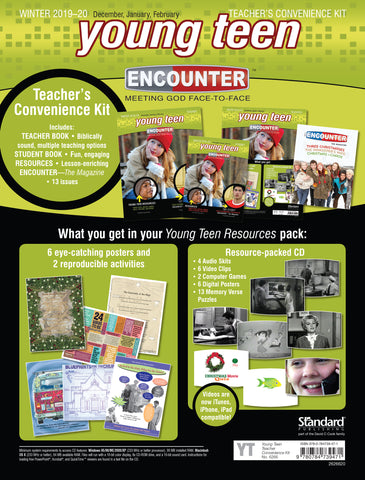Encounter Young Teen Teacher's Convenience Kit | Winter 2018-2019