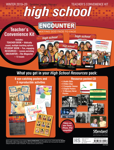 Encounter High School Teacher's Convenience Kit | Winter 2018-2019