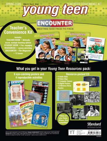 Encounter Sunday School Lessons Young Teen Teacher's Convenience Kit Cover