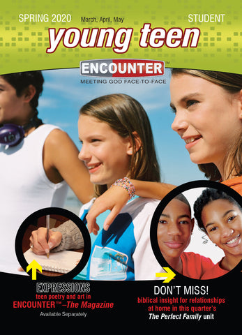 Encounter | Young Teen Student Book | Spring 2019
