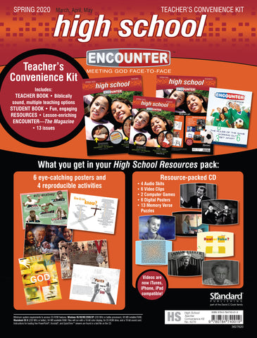 Encounter High School Teacher's Convenience Kit Spring Cover