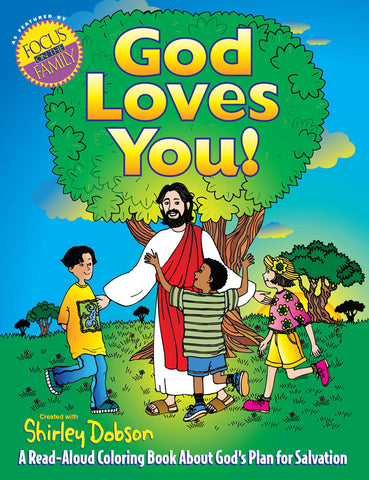 God Loves You Coloring Book - Gospel Light