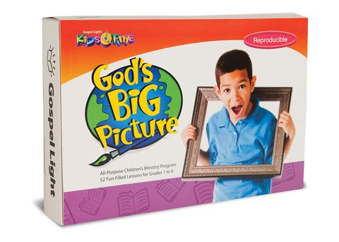 God's Big Picture Kids Time Kit - 52 week course for ages 6-12