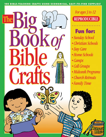 Big Book of Kids Bible Craft Lessons