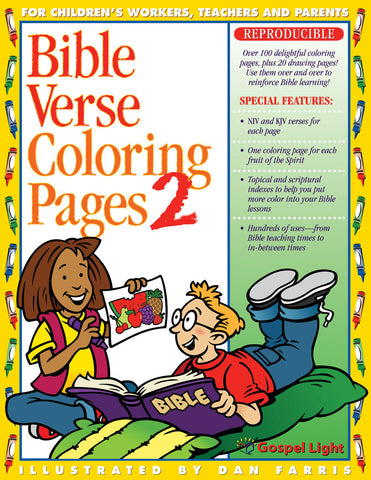 Bible Verse Coloring Pages #2 - Gospel Light