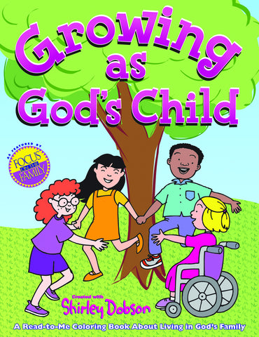 Growing as God's Child Coloring Book - Gospel Light
