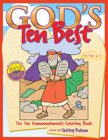 God's Ten Best Coloring Book - Gospel Light