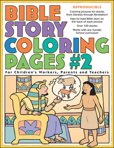 Bible Story Coloring Pages 2 Sunday School Activities