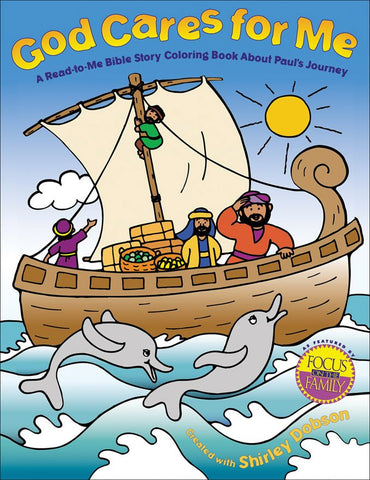 God Cares for Me Coloring Book - Gospel Light
