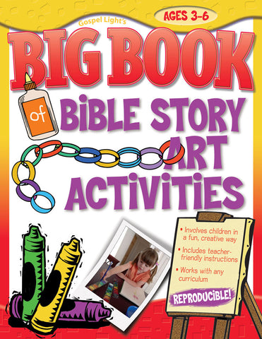Big Book of Bible Story Art Activities - Gospel Light
