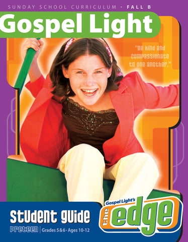 The Edge Student Guide - Preteen GR 5-6 - Fall Year B | Gospel Light