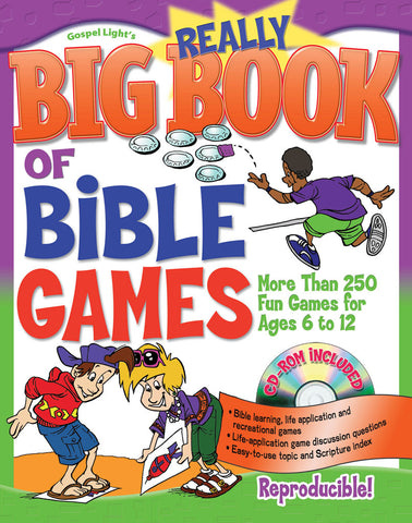 Really Big Book of Bible Games - Gospel Light