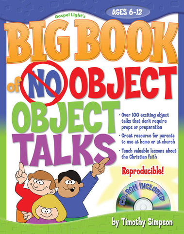 Big Book of No Object Object Talks - Gospel Light