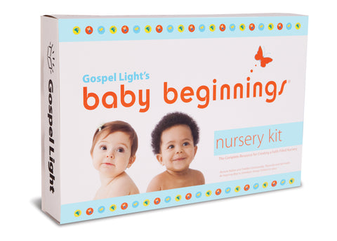 Gospel Light | Baby Beginnings Nursery Kit | Complete 2-Year Program