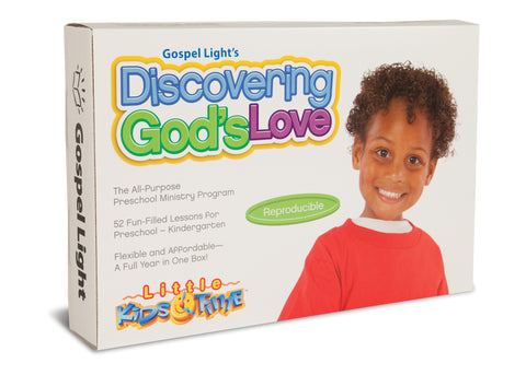 Discovering God's Love Kit - Preschool & PreK/Kind Ages 2-5 | Gospel Light