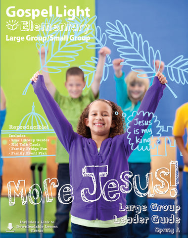 Gospel Light Elem Large Group/Small Group Spring 2018 Cover