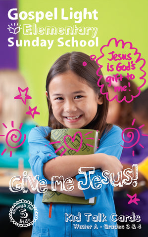 Kid Talk Cards - Elementary GR 3-4 - Winter Year A | Gospel Light