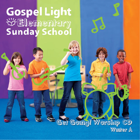 Get Going! Worship CD - Elementary GR 1-4 - Winter Year A | Gospel Light