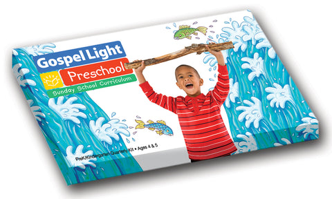 Gospel Light Pre-K Classroom Kit Ages 4 & 5 | Winter Year A