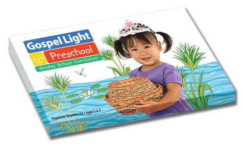 Gospel Light Preschool Teacher's Classroom Kit Spring 2018 Cover