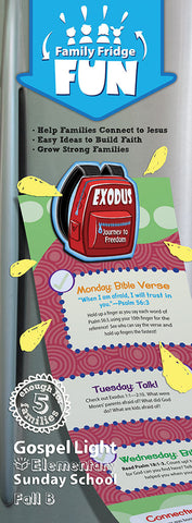 Family Fridge Fun - Elementary GR 1-4 - Fall Year B | Gospel Light