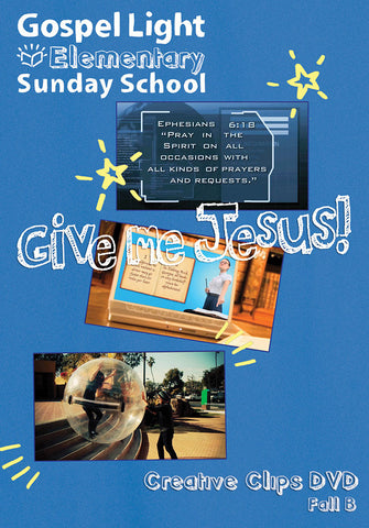 Creative Clips DVD - Elementary GR 1-4 - Fall Year B | Gospel Light