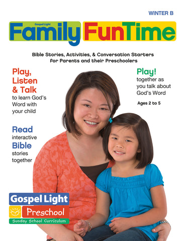 Gospel Light | Preschool / Pre-K Family FunTime Take Home | Winter Year B
