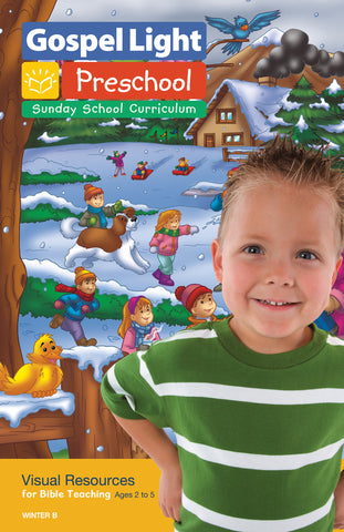 Visual Resources - Preschool / Pre-K Ages 2-5 - Winter Year B | Gospel Light