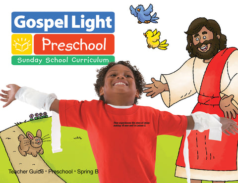 Gospel Light | Preschool Ages 2-3 Teacher Guide | Spring B