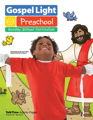 TalkTime Activity Pages - Preschool Ages 2-3 - Spring Year B | Gospel Light