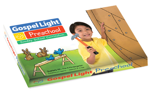 Gospel Light | Pre-K Ages 4-5 Classroom Kit | Spring Year B